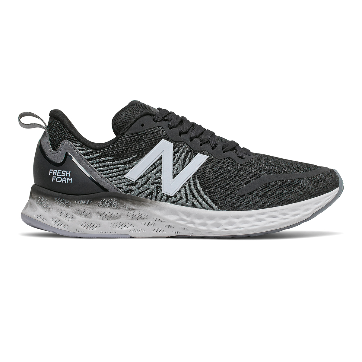 Women's New Balance Tempo Running Shoe - Color: Black - Size: 5 - Width: Regular, Black, large, image 1