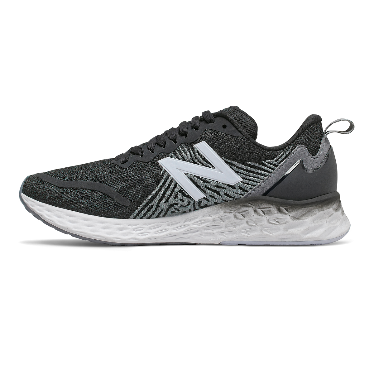 Women's New Balance Tempo Running Shoe - Color: Black - Size: 5 - Width: Regular, Black, large, image 2