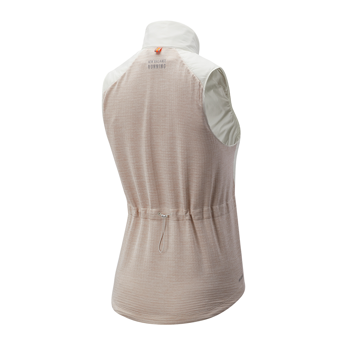 Women's New Balance Heat Grid Vest - Color: Sea Salt Heather - Size: L, Sea Salt Heather, large, image 2
