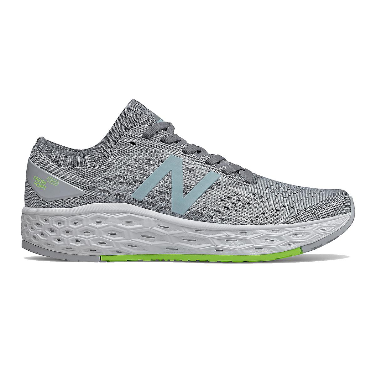 Women's New Balance Fresh Foam Vongo V4 Running Shoe - Color: Light Aluminum - Size: 5.5 - Width: Regular, Light Aluminum, large, image 1