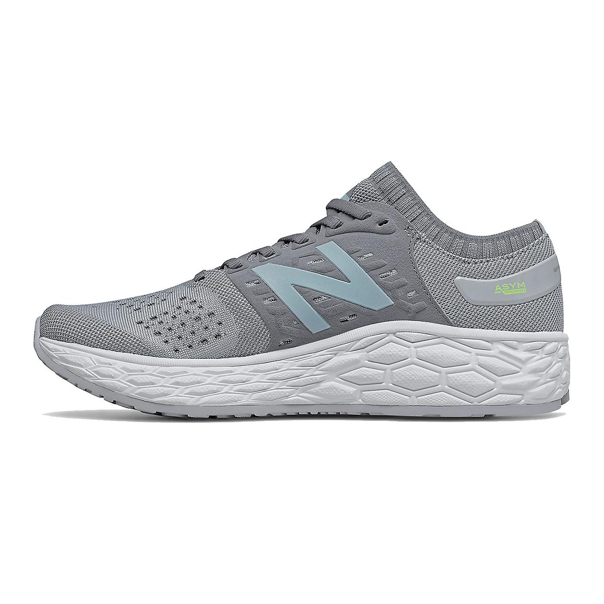 Women's New Balance Fresh Foam Vongo V4 Running Shoe - Color: Light Aluminum - Size: 5.5 - Width: Regular, Light Aluminum, large, image 2