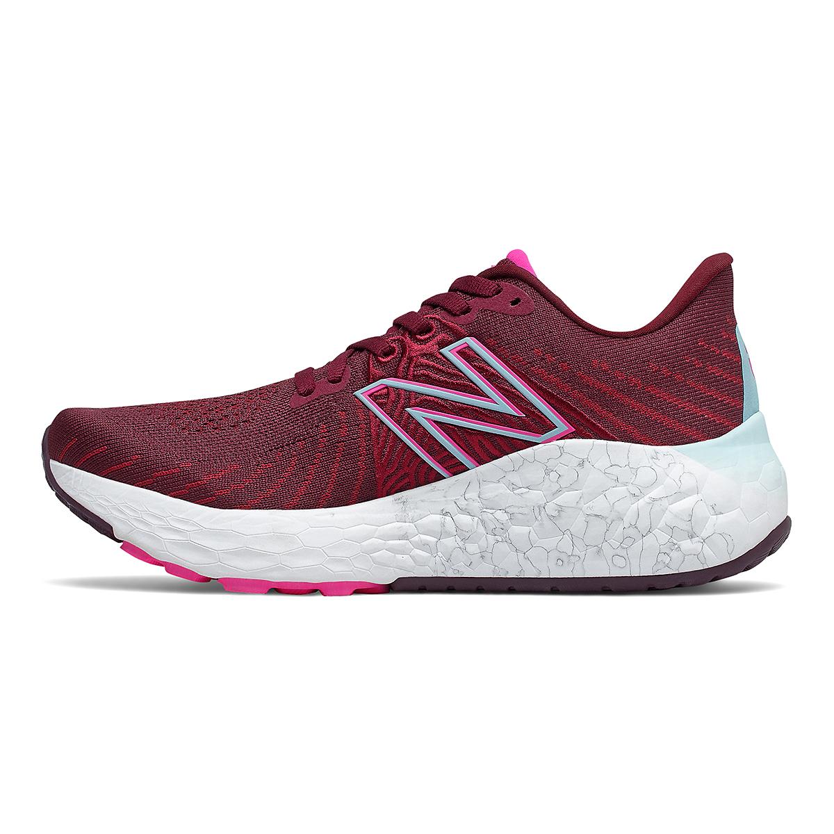 Women's New Balance Fresh Foam Vongo V5 Running Shoe - Color: Garnet/Pink Glo - Size: 5 - Width: Regular, Garnet/Pink Glo, large, image 2