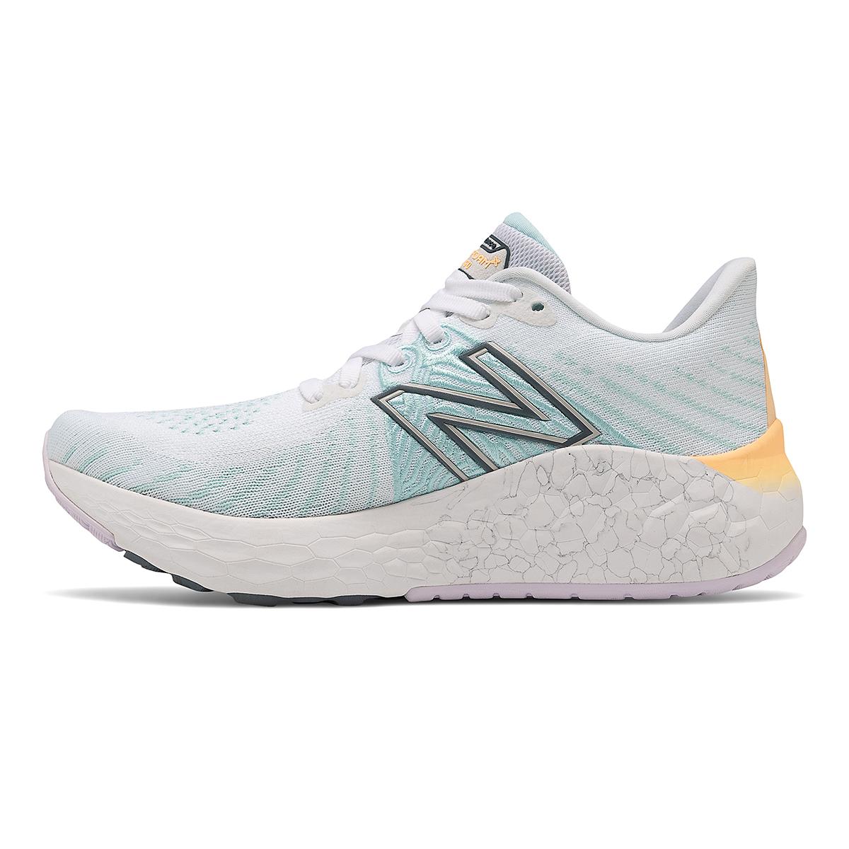 Women's New Balance Fresh Foam Vongo V5 Running Shoe - Color: White/Light Mango - Size: 5 - Width: Regular, White/Light Mango, large, image 2