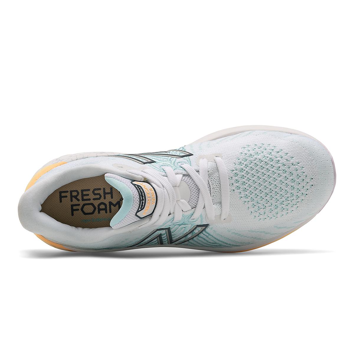 Women's New Balance Fresh Foam Vongo V5 Running Shoe - Color: White/Light Mango - Size: 5 - Width: Regular, White/Light Mango, large, image 4