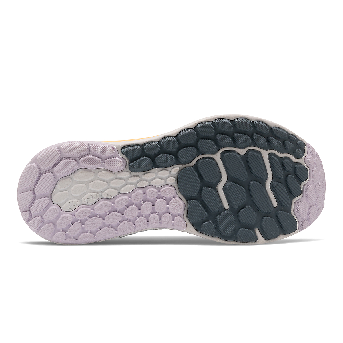 Women's New Balance Fresh Foam Vongo V5 Running Shoe - Color: White/Light Mango - Size: 5 - Width: Regular, White/Light Mango, large, image 5