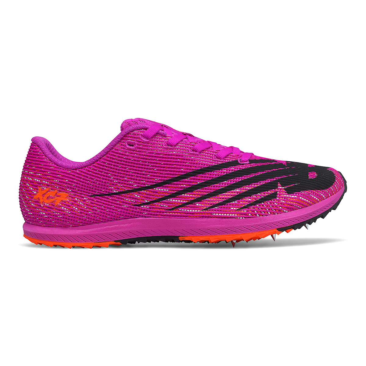 Women's New Balance XC Seven v3 Track Spikes - Color: Poison Berry/Dynomite - Size: 5.5 - Width: Regular, Poison Berry/Dynomite, large, image 1