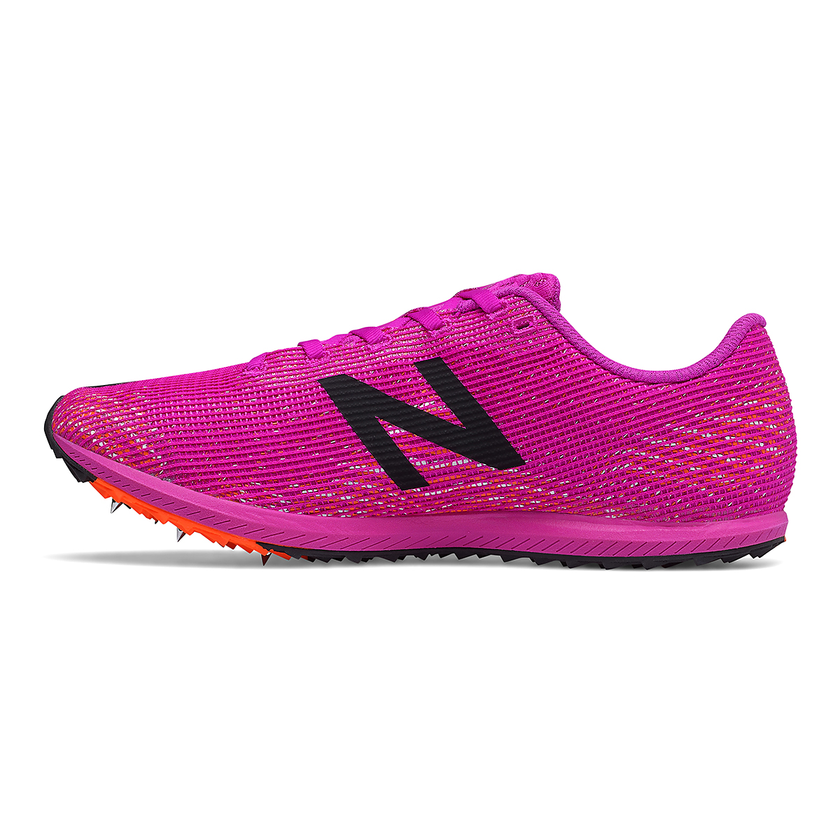 Women's New Balance XC Seven v3 Track Spikes - Color: Poison Berry/Dynomite - Size: 5.5 - Width: Regular, Poison Berry/Dynomite, large, image 2