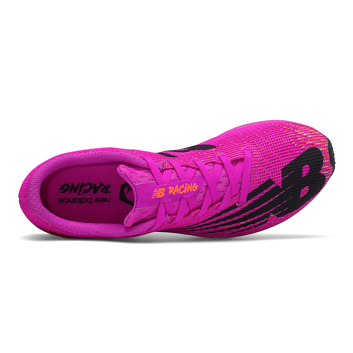 Women's New Balance XC Seven v3 Track Spikes - Color: Poison Berry/Dynomite - Size: 5.5 - Width: Regular, Poison Berry/Dynomite, large, image 3