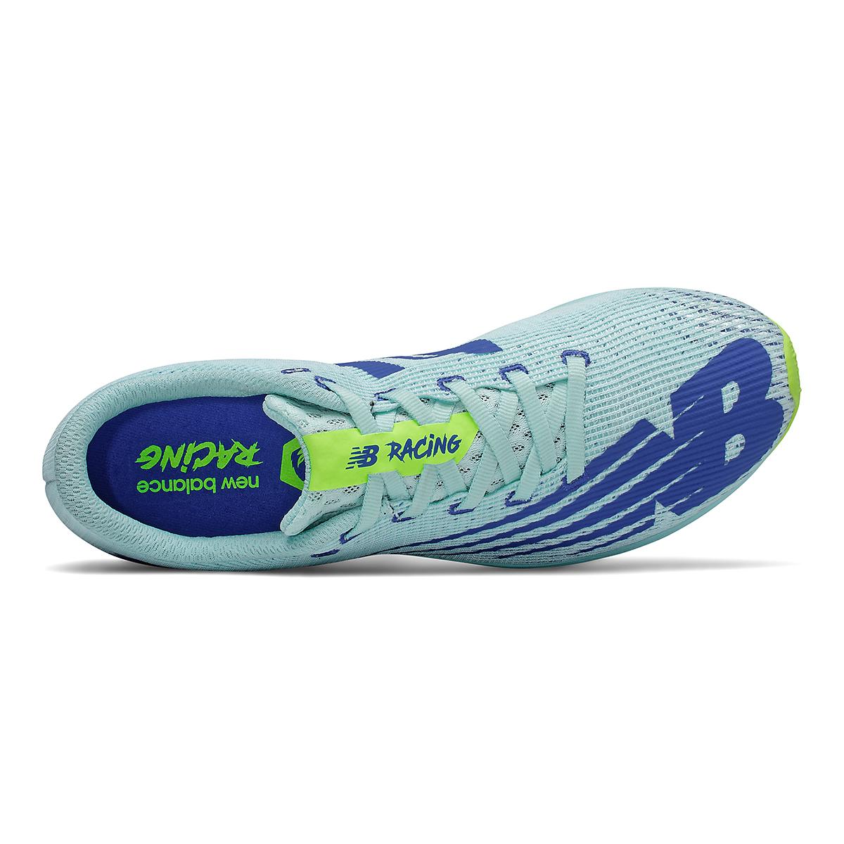 Women's New Balance XC Seven v3 Track Spikes - Color: Glacier/Cobalt - Size: 5.5 - Width: Regular, Glacier/Cobalt, large, image 3