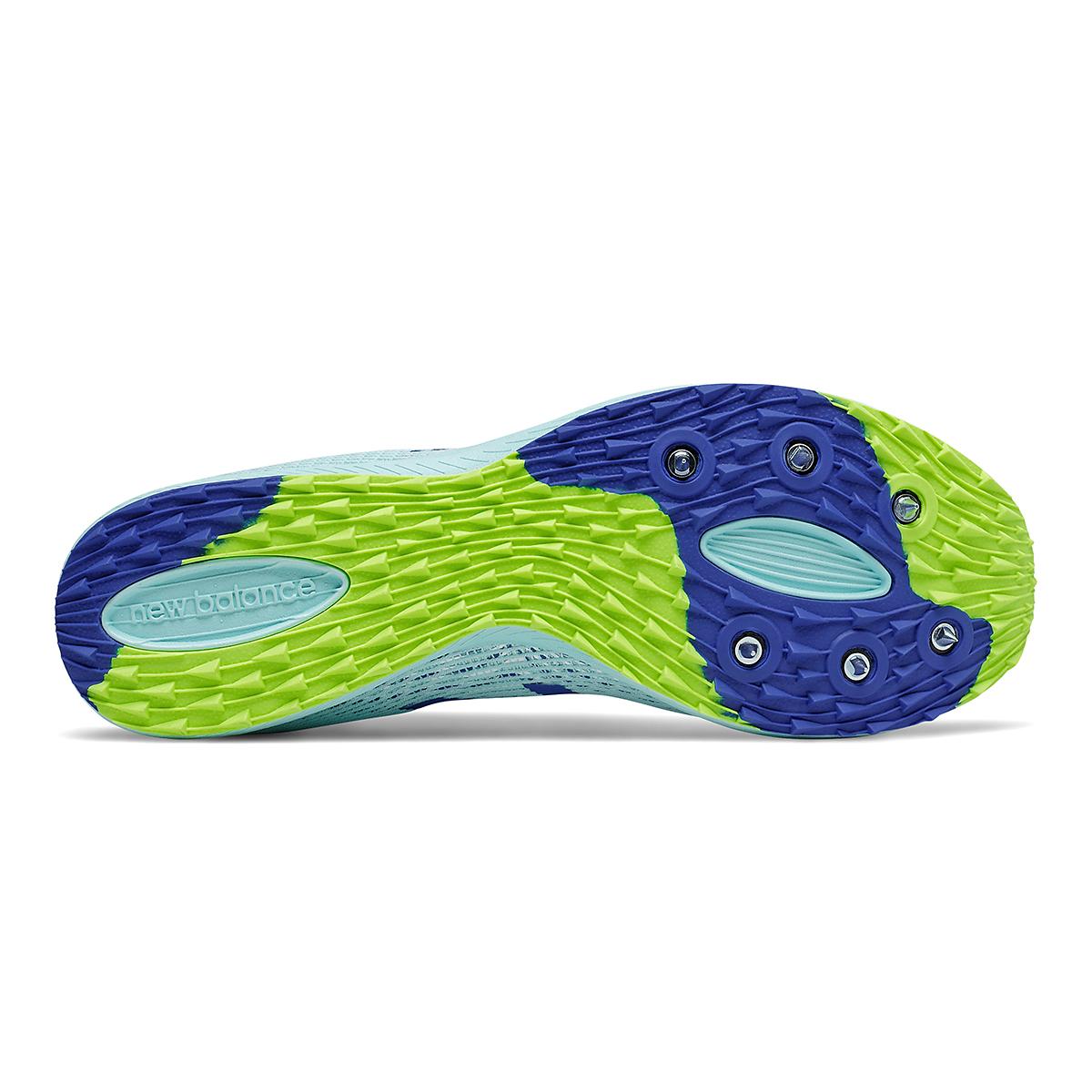 Women's New Balance XC Seven v3 Track Spikes - Color: Glacier/Cobalt - Size: 5.5 - Width: Regular, Glacier/Cobalt, large, image 4