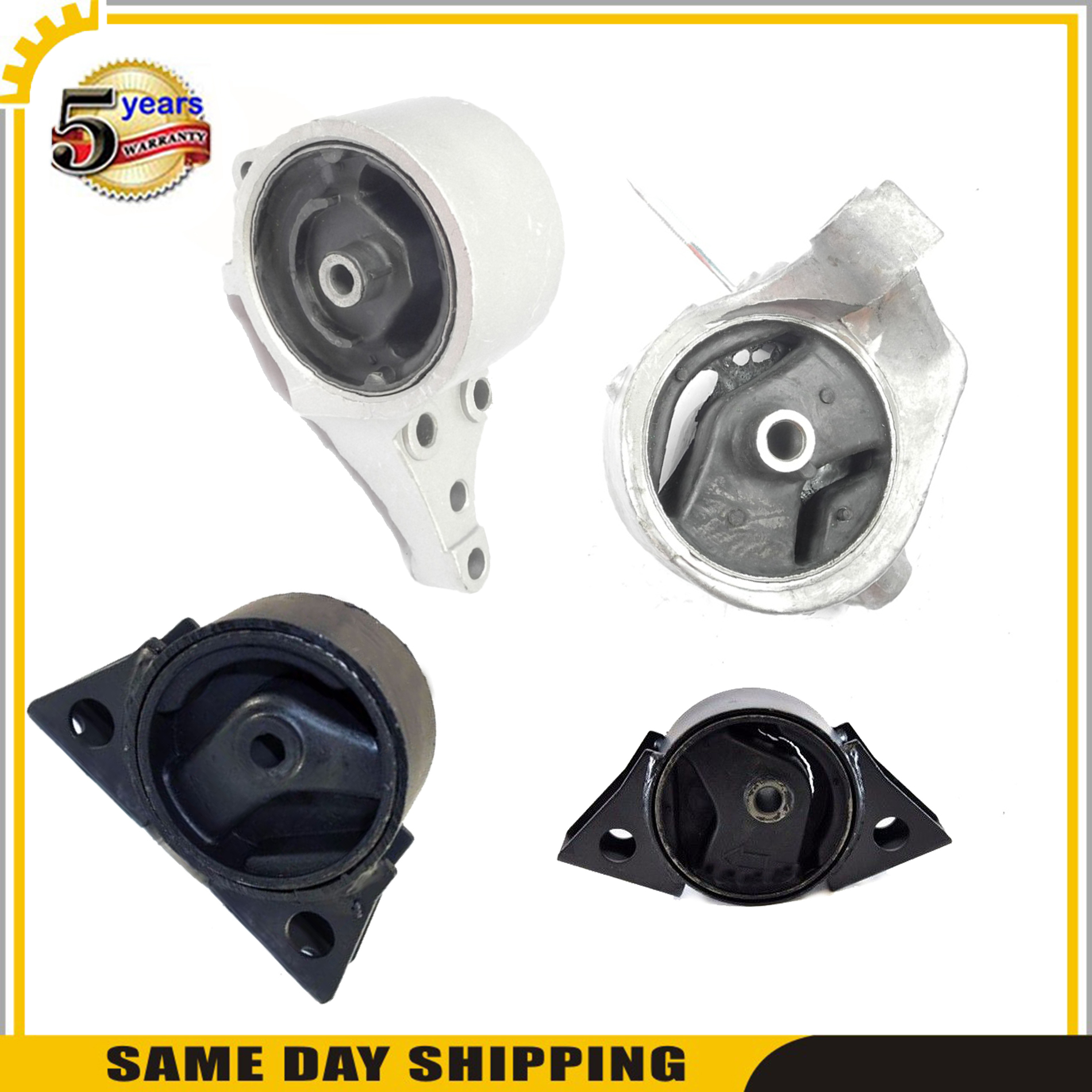Motor and Transmission Mount Kit compatible with Nissan Altima 98-01