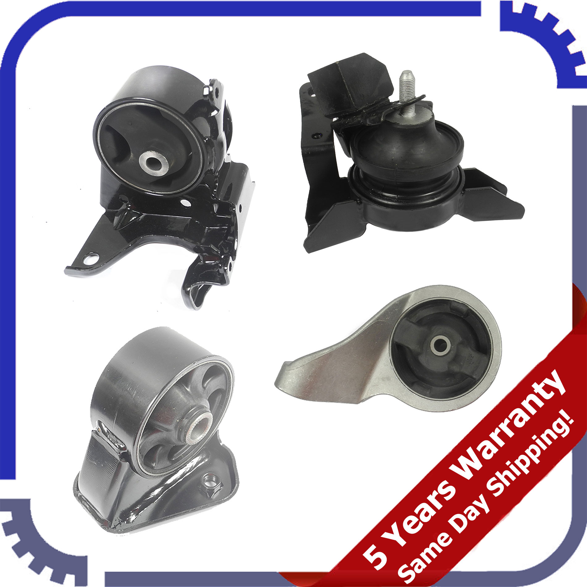 01-06 2.7L 7124 Front Right Engine Motor Mount For Hyundai Santa Fe 01-04 2.4L