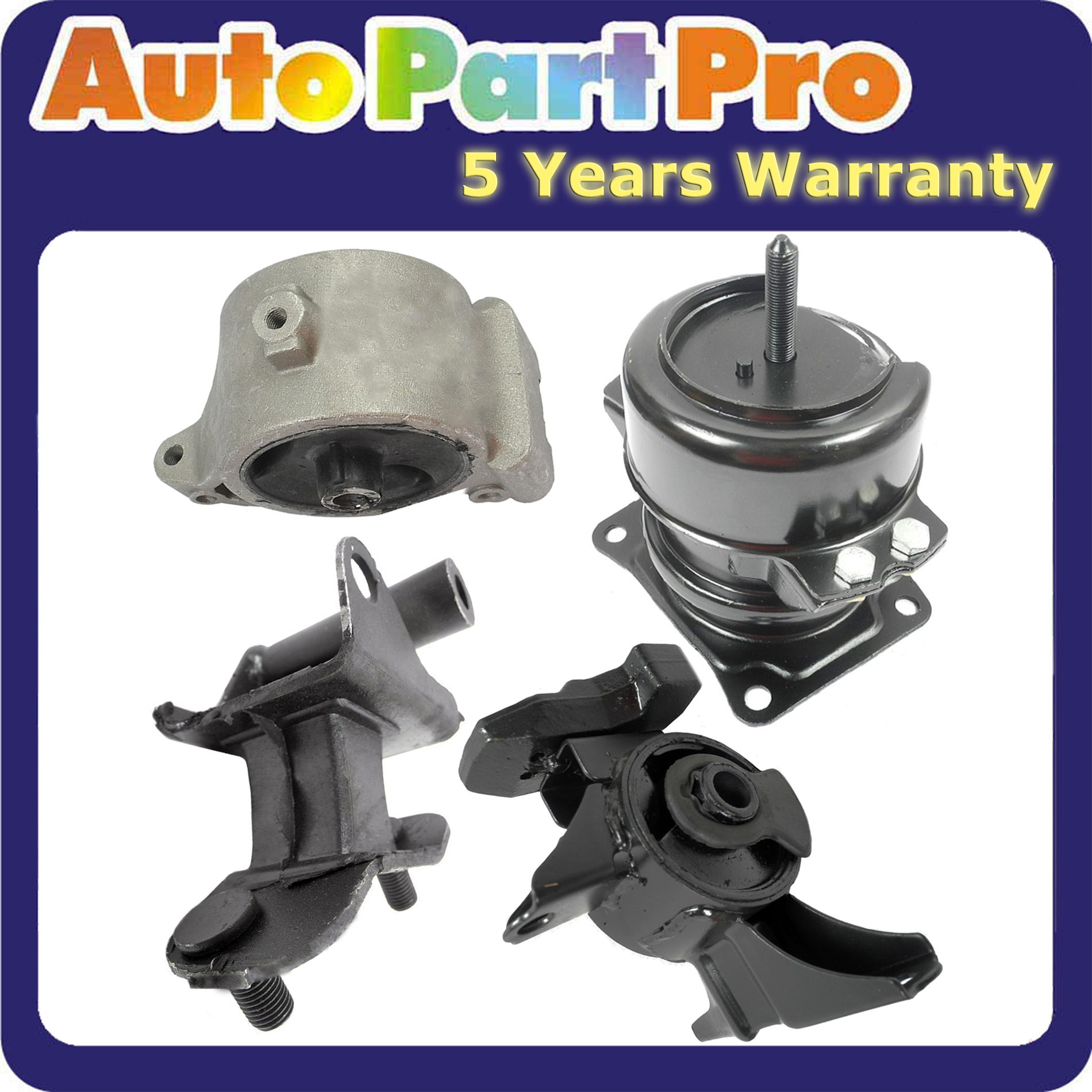 For 2003-2006 Acura MDX 3.5L Engine Motor & Trans Mount