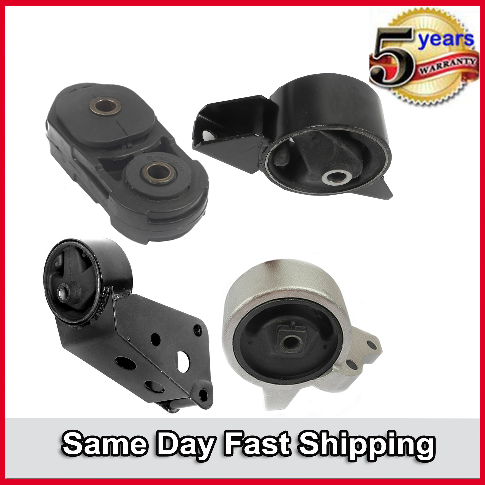 New For Nissan 200SX NX Sentra Rear Engine Motor Mount Manual Trans 6324