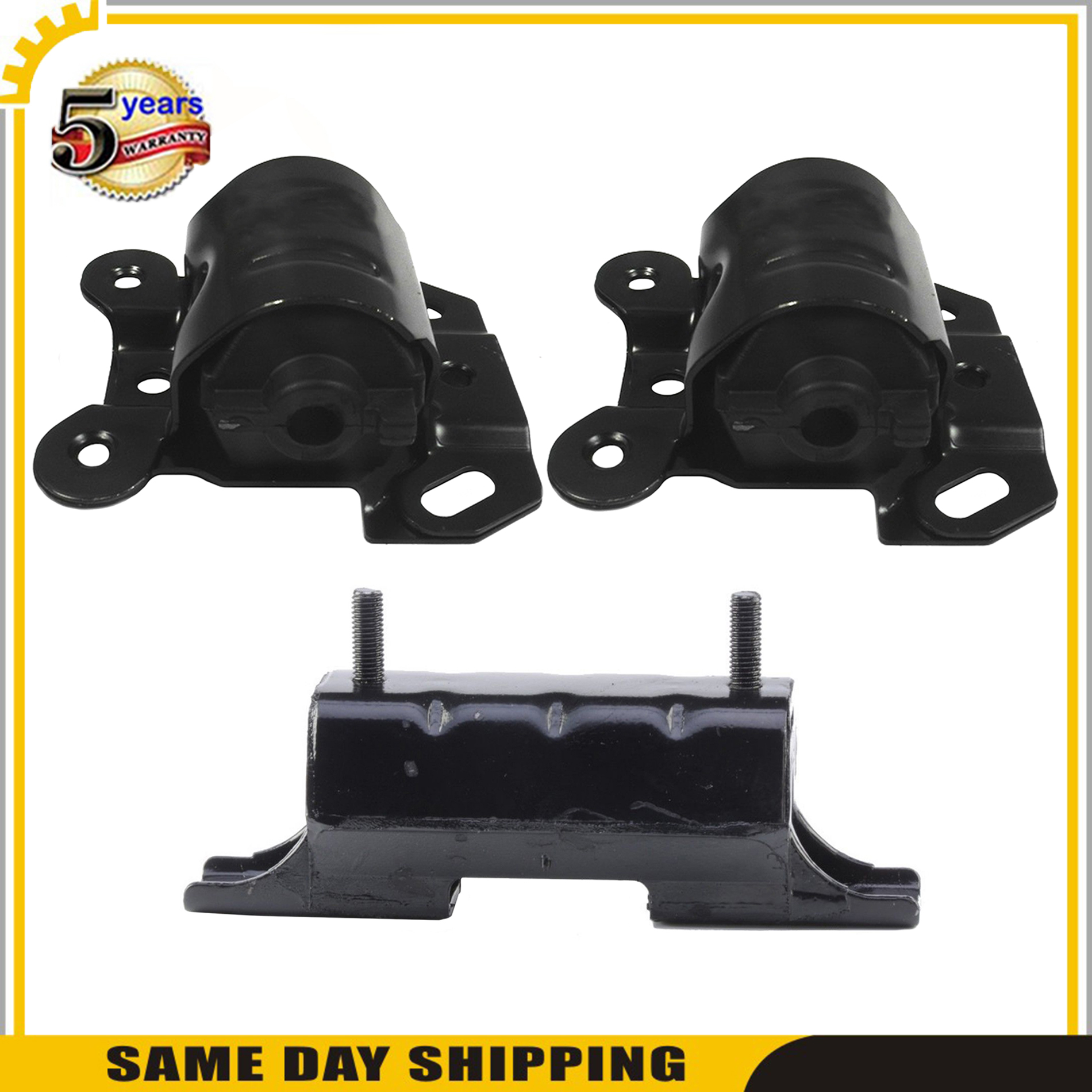 Set of 3pcs Engine Motor /& Trans Mount For Chevy Astro GMC Safari 4.3L 4WD 96-05