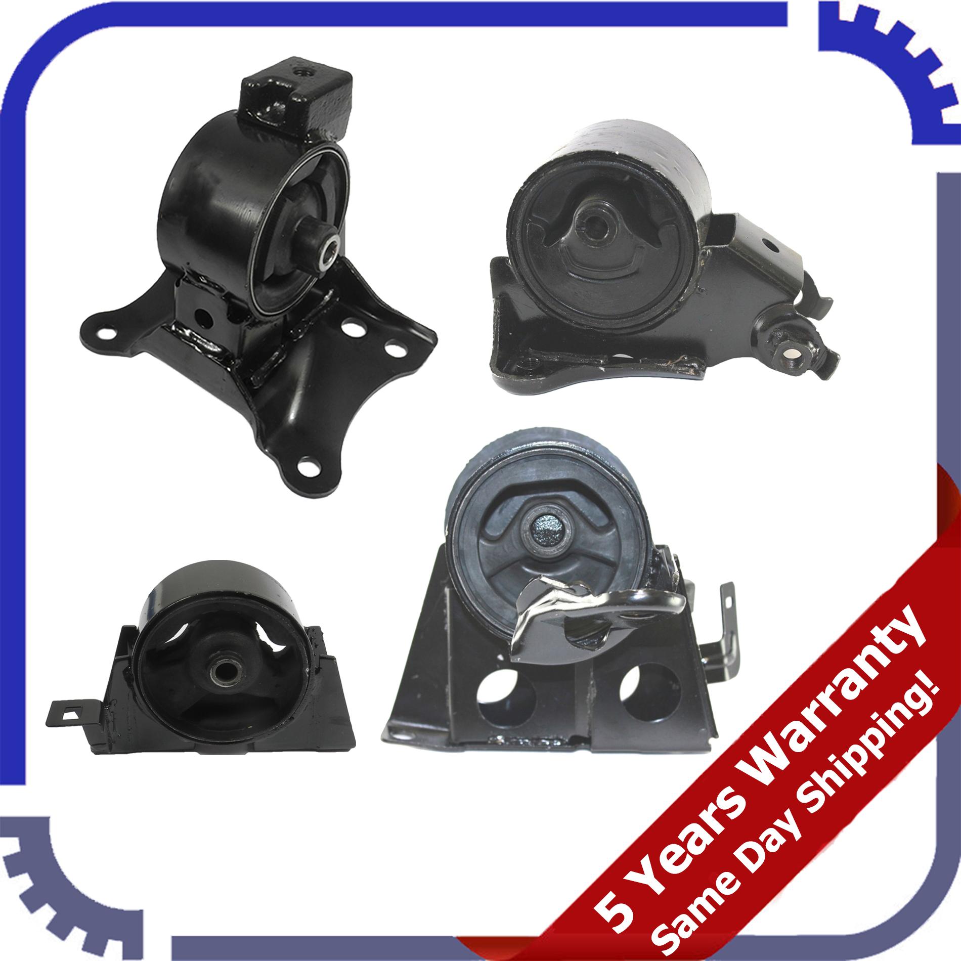 Engine Motor /& Trans Mount Set 4pcs L948 Fits 2005-2006 Nissan X-Trail 2.5L 4WD