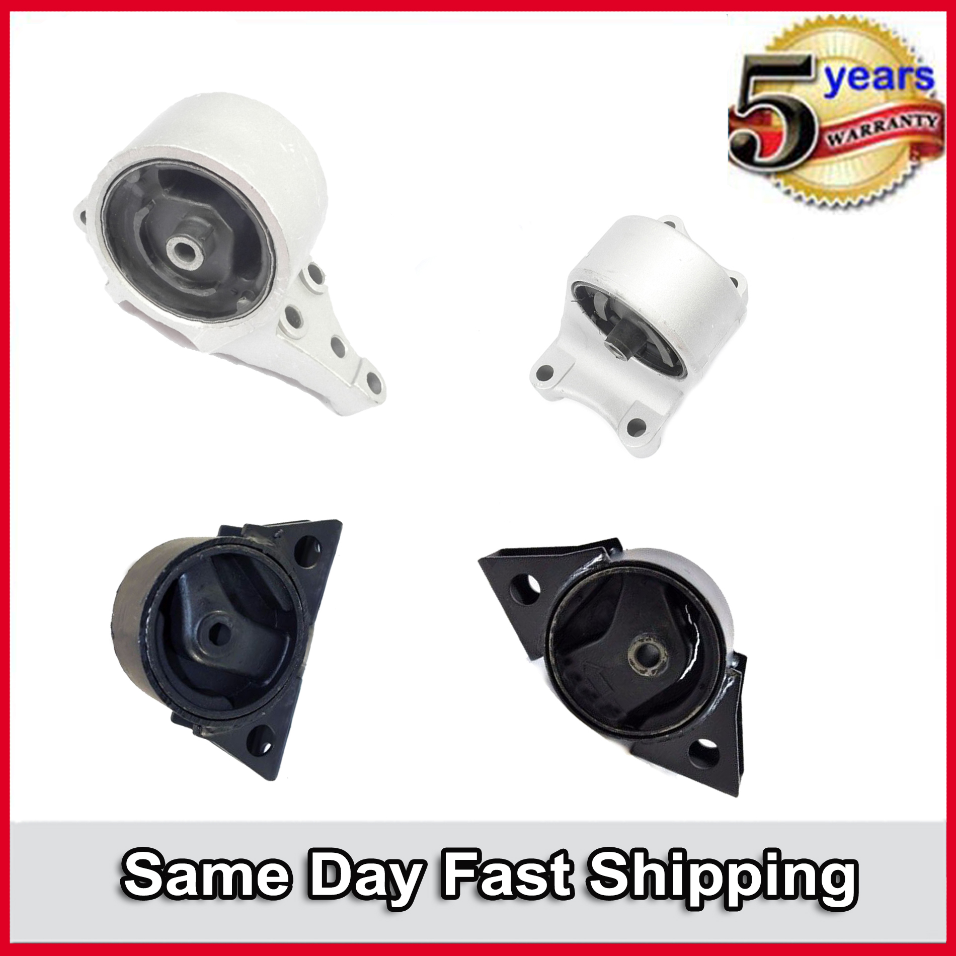 New Trans Engine Motor Mount 6343 For 1993-2001 Nissan Altima 2.4L New