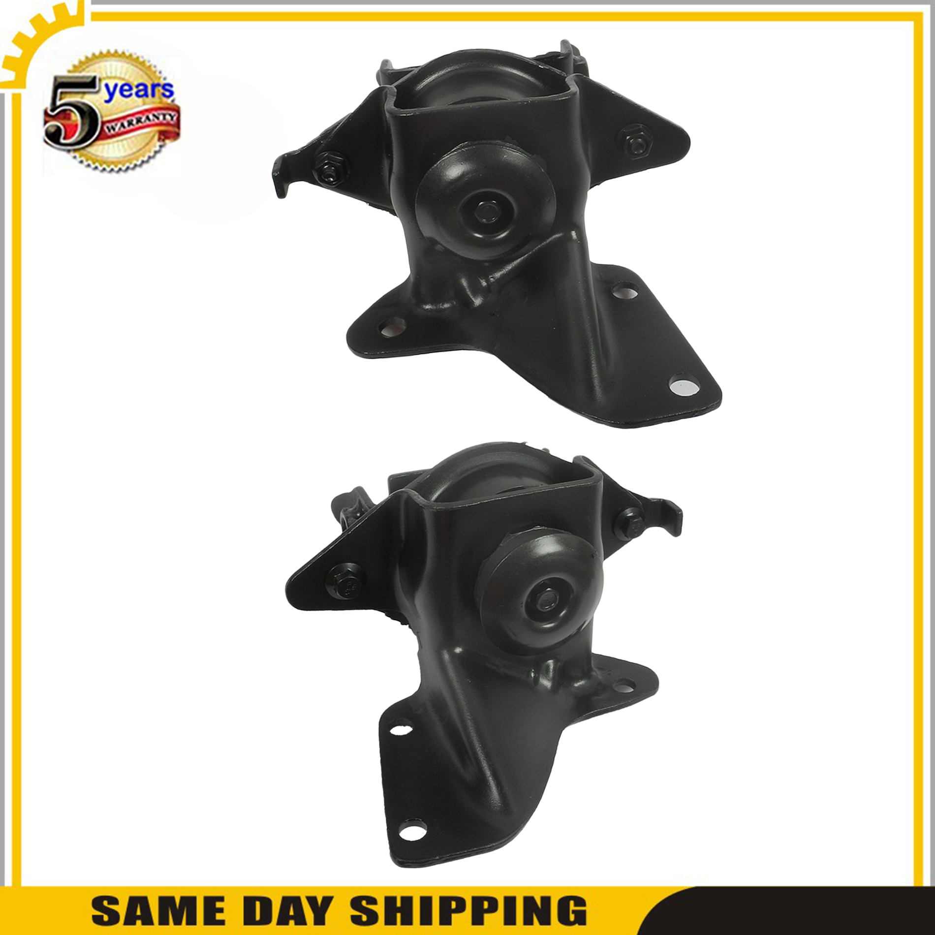 For Front Left /& Right Engine Motor Mount 5117 5118 1987-1993 Ford Mustang 2.3L