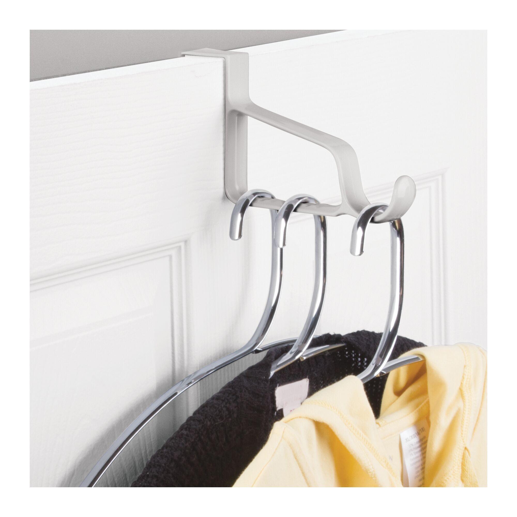 InterDesign Over Door Valet Hook for Clothes Hangers