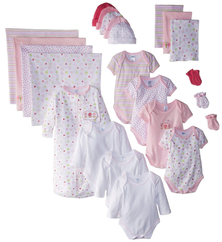 Spasilk Essential Newborn Baby Layette Set 0-6 Months Pink Girl of ...