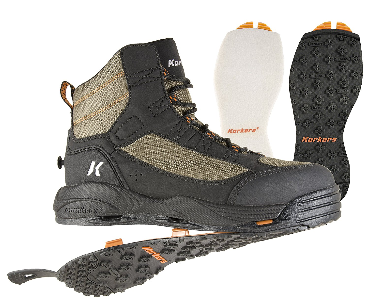 NEW REDINGTON SKAGIT RIVER RUBBER SOLE WADING BOOT SIZE 8 fly fishing durable