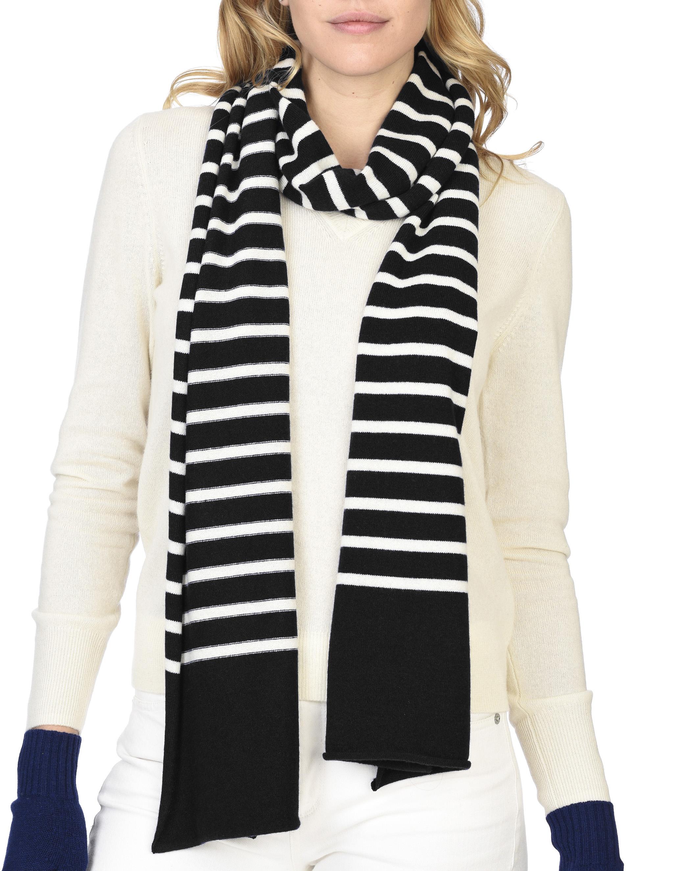 state cashmere 100 pure cashmere stripe scarf ultimate soft and