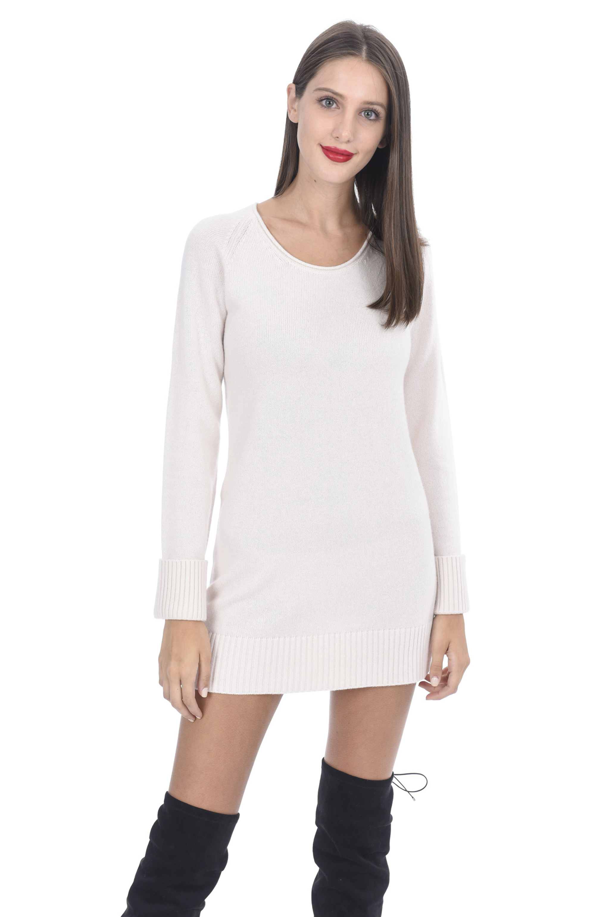 Cashmere 100 Women sweater dresses