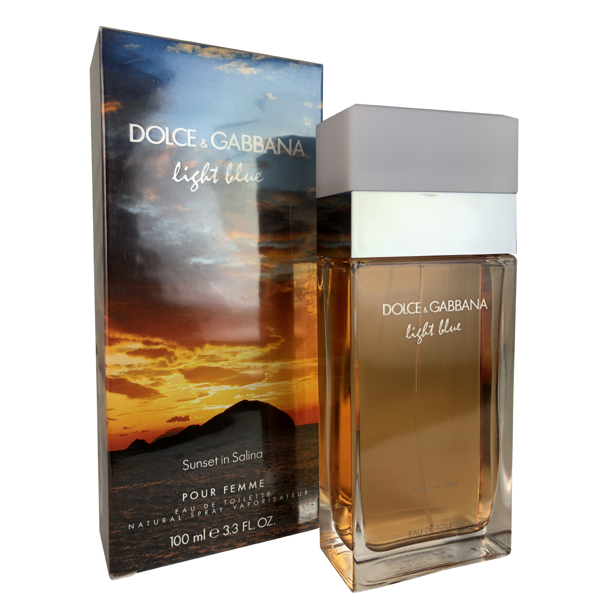 677eb0da4572d Details about Dolce   Gabanna Sunset In Salina Light Blue - Women 3.3oz Eau  De Toilette Spray