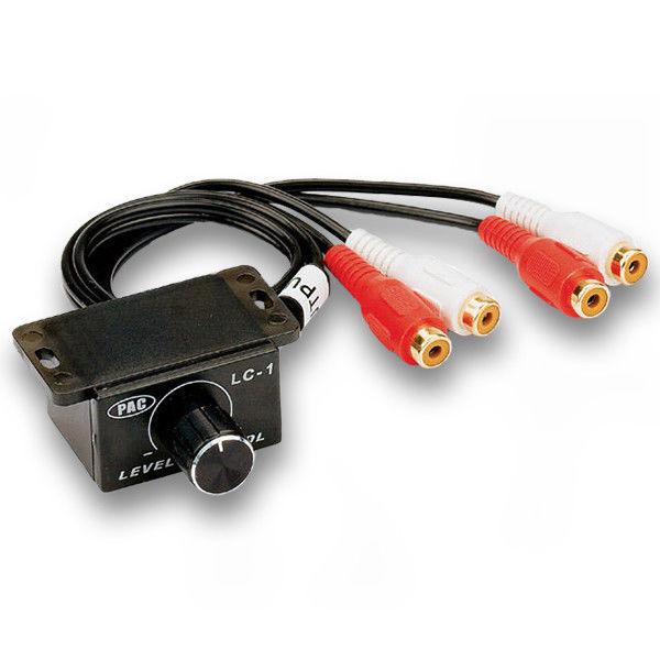 PAC LC-1 UNIVERSAL CAR AMPLIFIER BASS KNOB RCA LEVEL AMP VOLUME CONTROL KNOB LC1