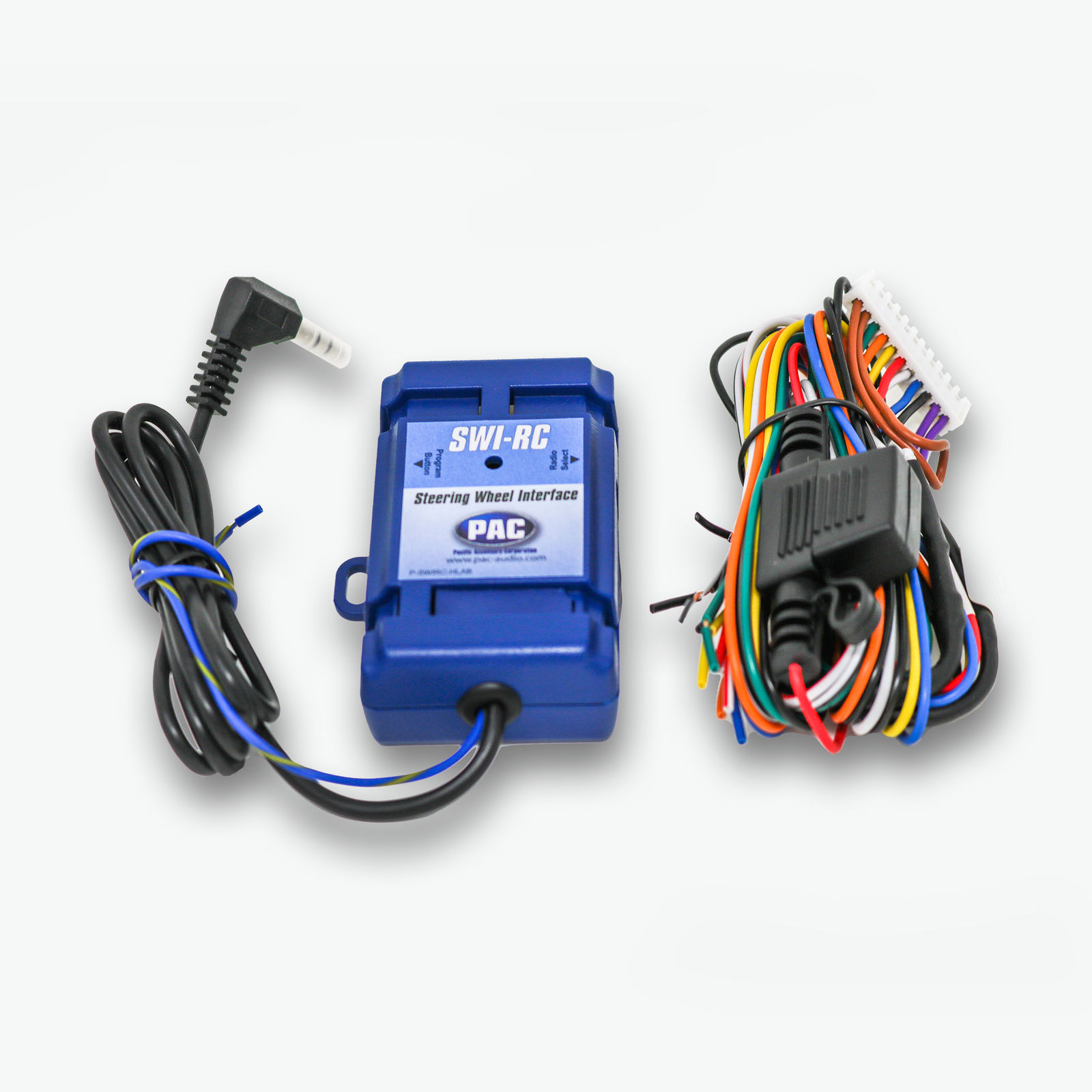 details about pac swi-rc steering wheel control retention interface adapter  swi-jack + swi-ps