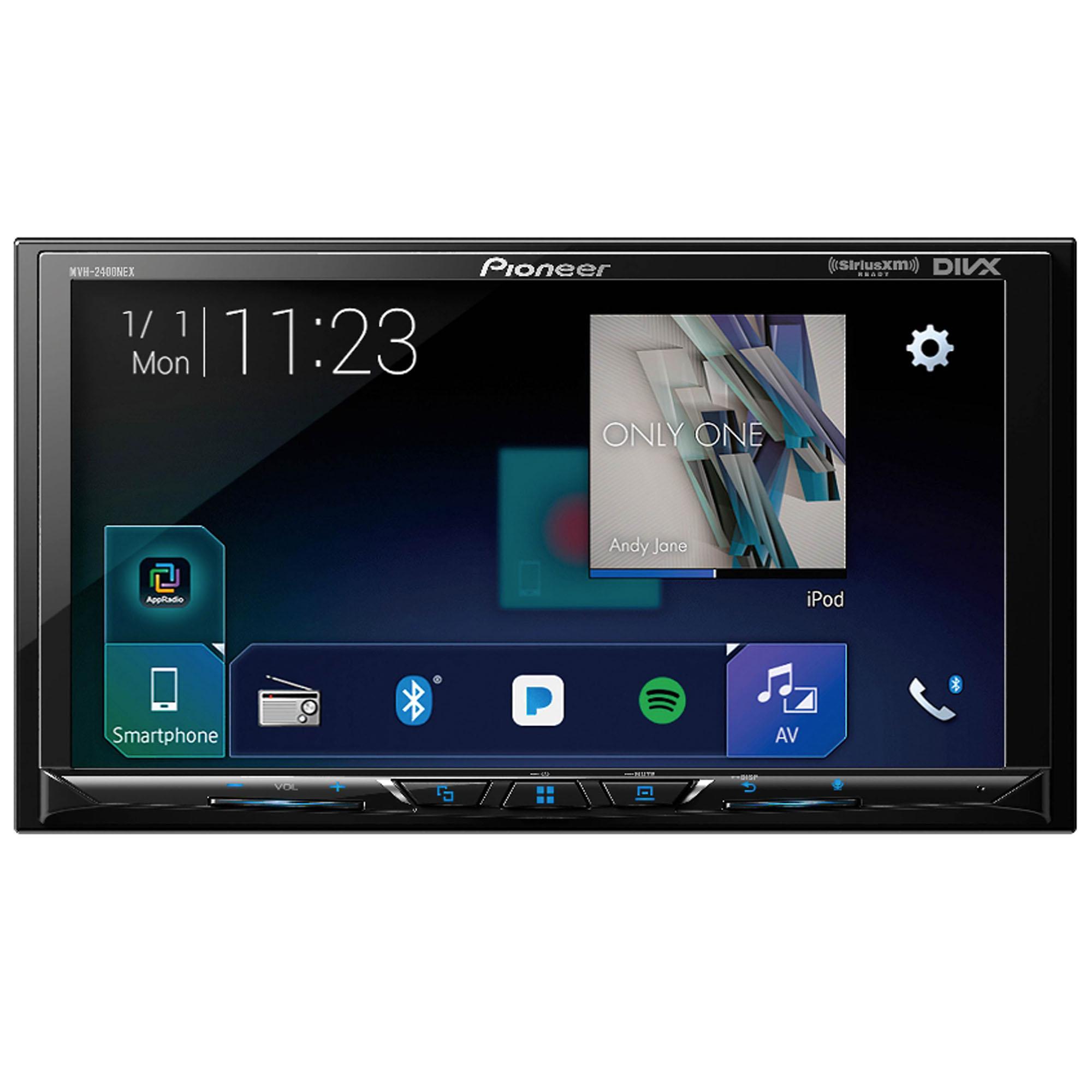 7 Double Din Touchscreen Apple Carplay Multimedia Video Receiver