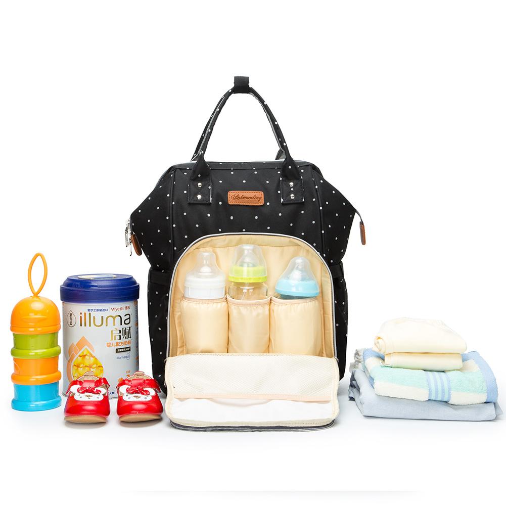 Mummy-Nappy-Diaper-Bag-Baby-Care-Nursing-Bag-Multi-Function-Travel-Backpack thumbnail 21