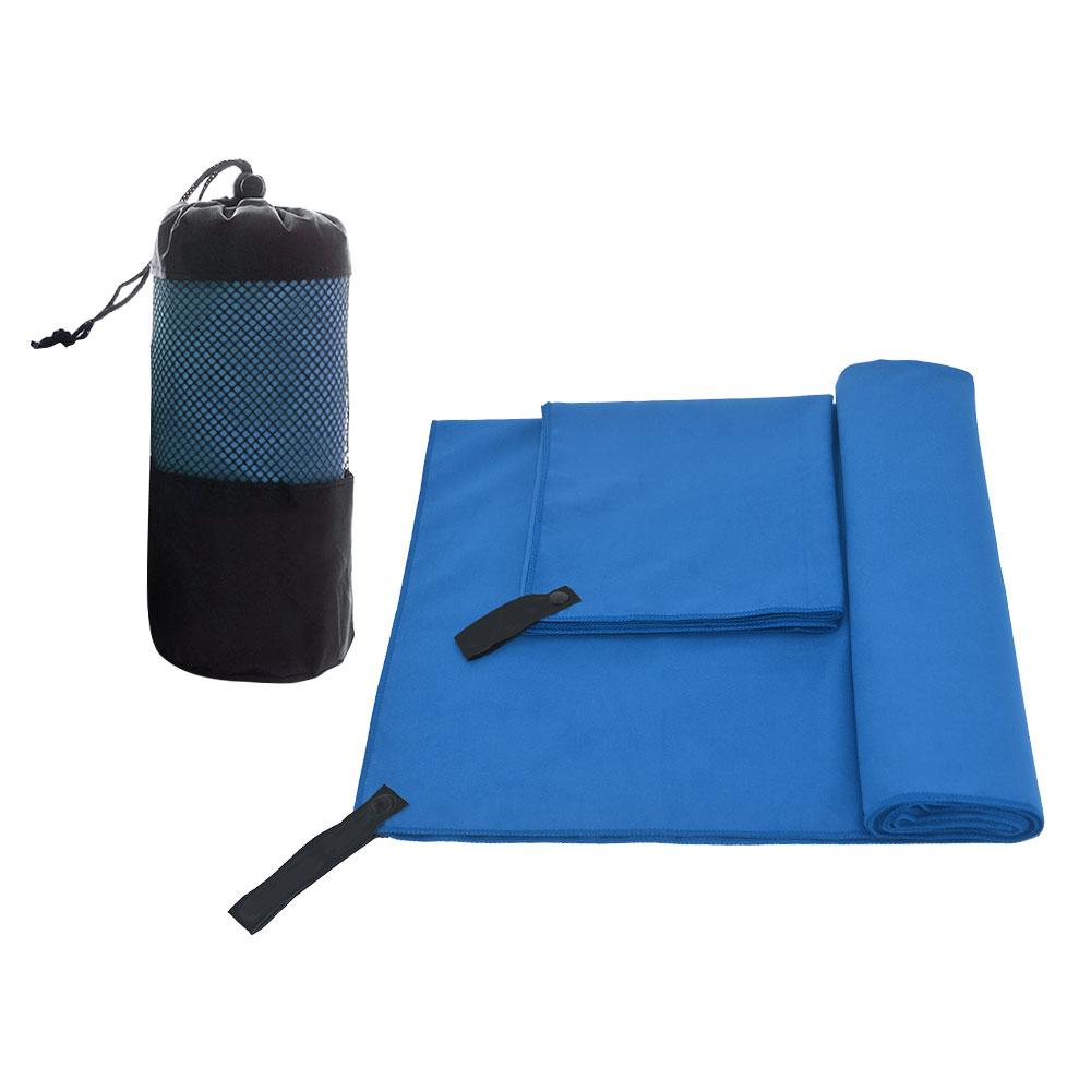 2Pcs/Set Microfiber Travel Sports Towel Quick Drying