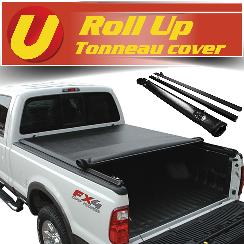 Vinyl Black Smooth Roll Up Tonneau Cover 2016 2020 Toyota Tacoma 5ft 60in Bed Ebay