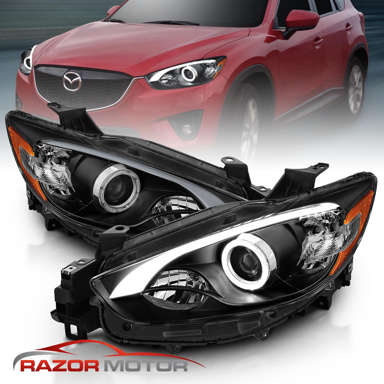 Pair LED Fog Light Assembly For 2016 Mazda 6 and 2013-2016 Mazda CX-5