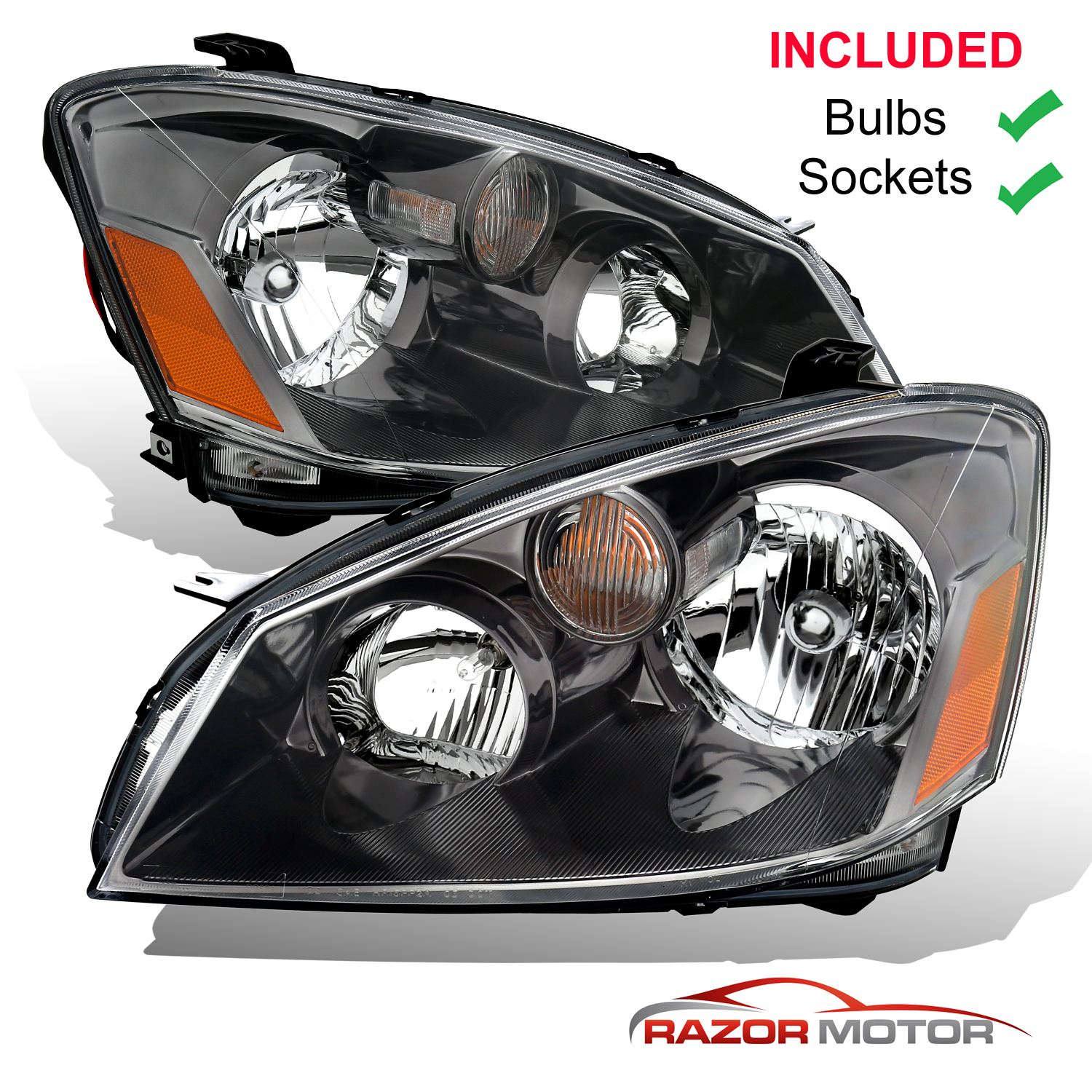 2005 nissan altima headlamp replacement