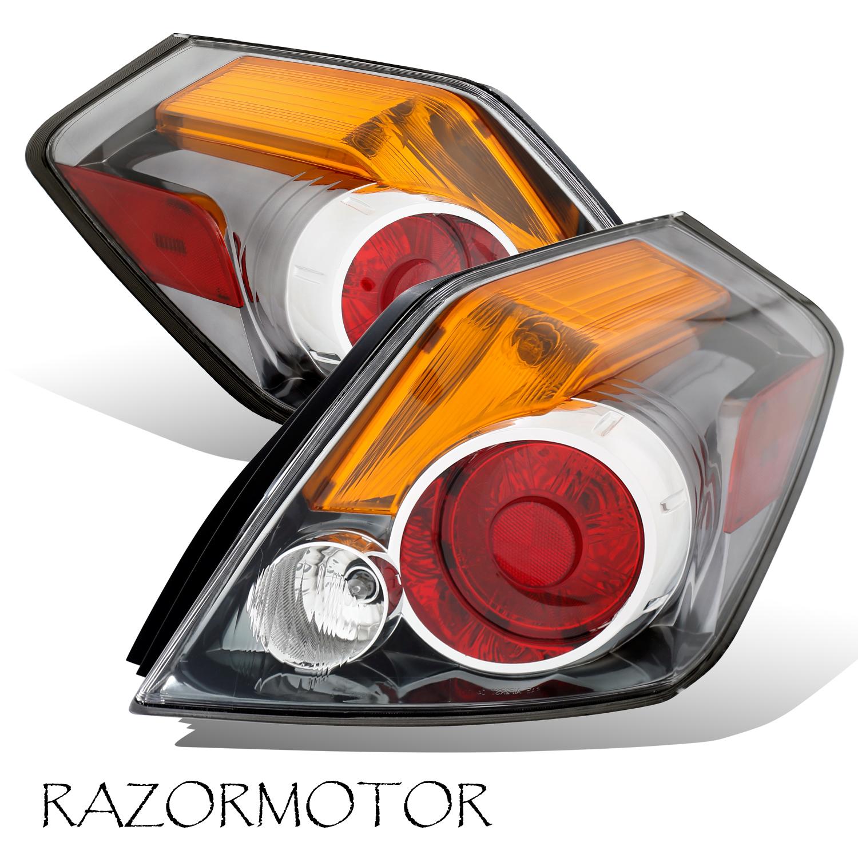 2007 2012 Replacement Tail Light For Nissan Altima Sedan 4 Door Pair W Bulb Ebay