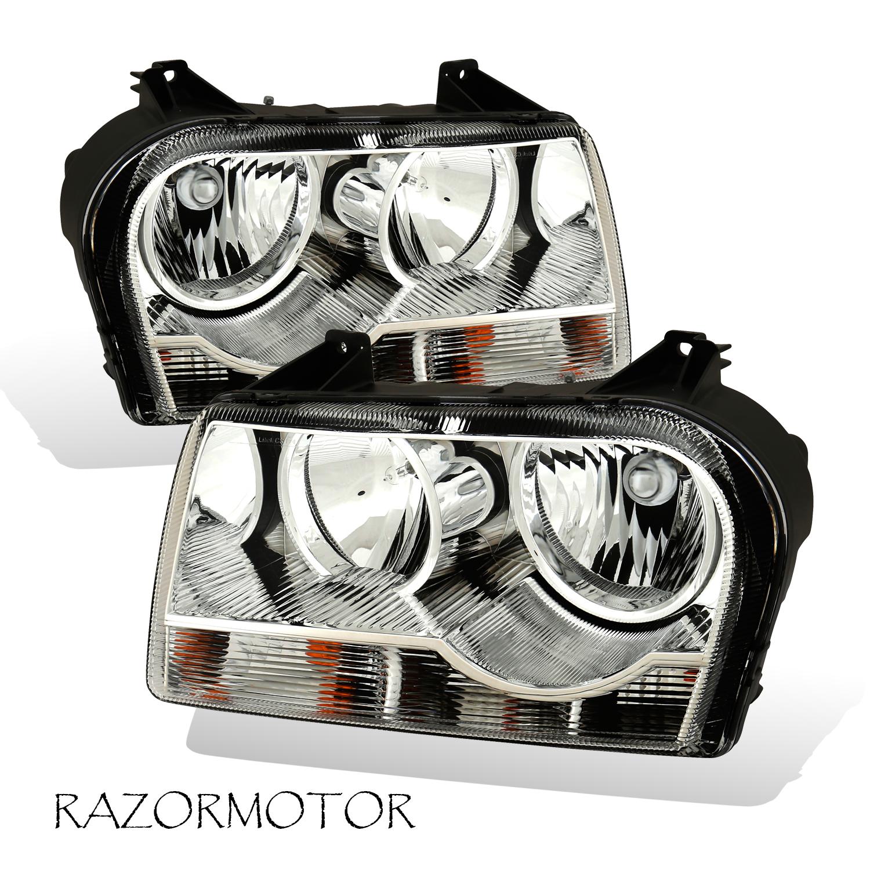 For 2005-2007 Chrysler 300 Driver Side Halogen Headlight Head Light Lamp LH