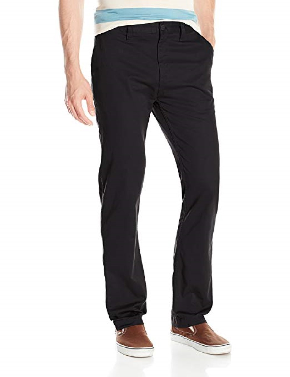 2543b0482 DC Mens Worker Straight Fit Chino 32