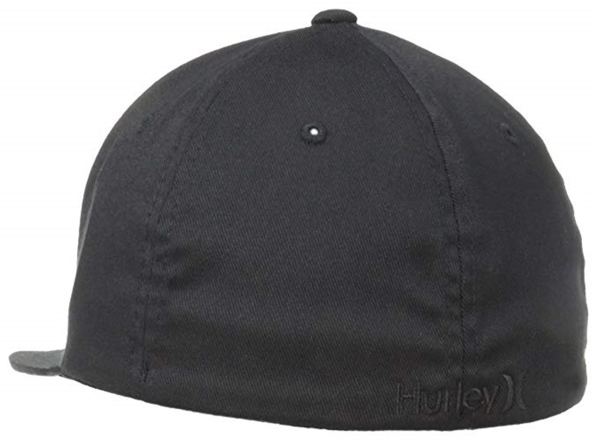 Hurley One and Only Black Hat Flex Fit Mens Medium Snug Comfort Sport  Style. About this product. Picture 1 of 4  Picture 2 of 4  Picture 3 of 4   Picture 4 ... 7dcfea91d06a
