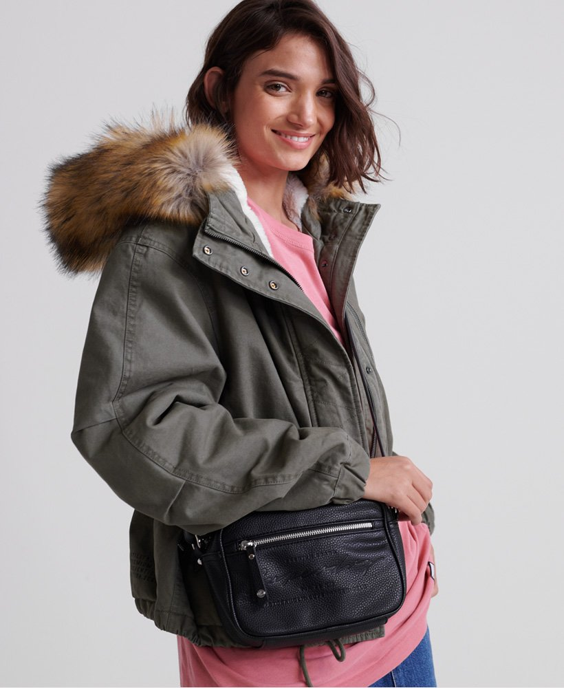 Leatherbag Shoulderbag Cross Body Bag. OFA Purse Bag