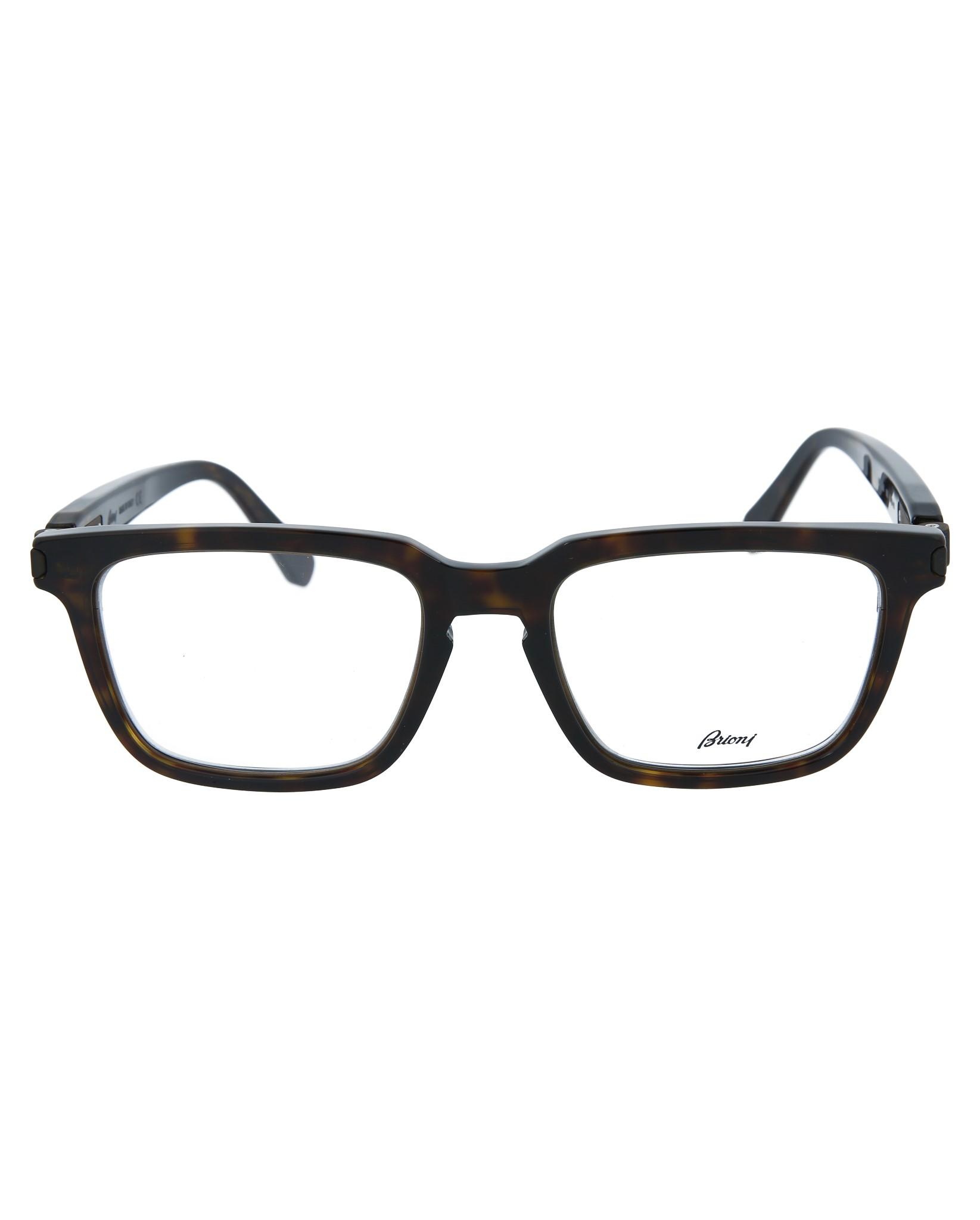 5bf46f54f7ac6 Brioni Mens Square Rectangle Optical Frames BR0002OA-30000203-002 ...