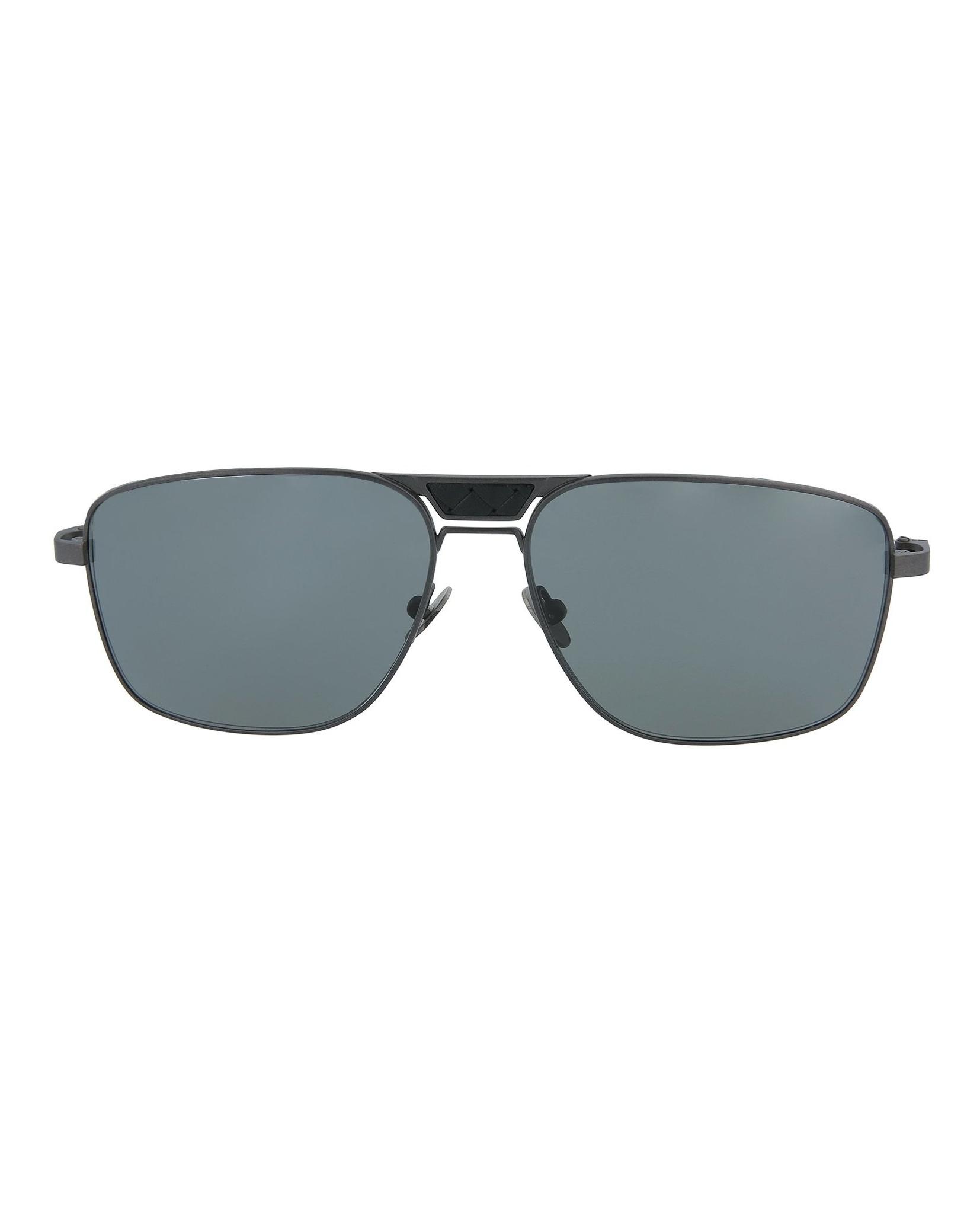 214adeee225c0 Bottega Veneta Mens Square Rectangle Sunglasses BV0052S-30000294-003 ...