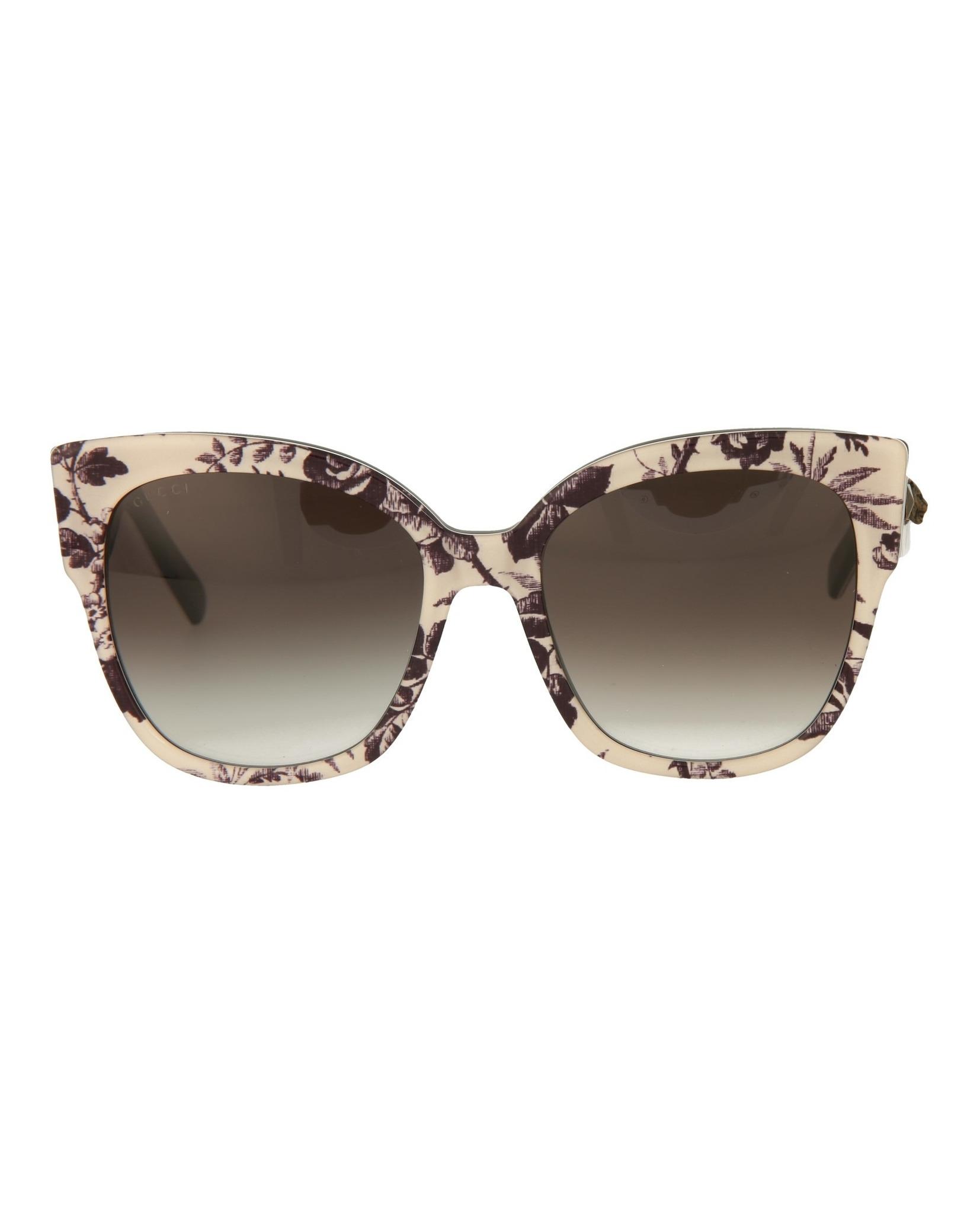7fe1cf9ee4 Gucci Womens Square Rectangle Sunglasses GG0059S-30001027-004 ...