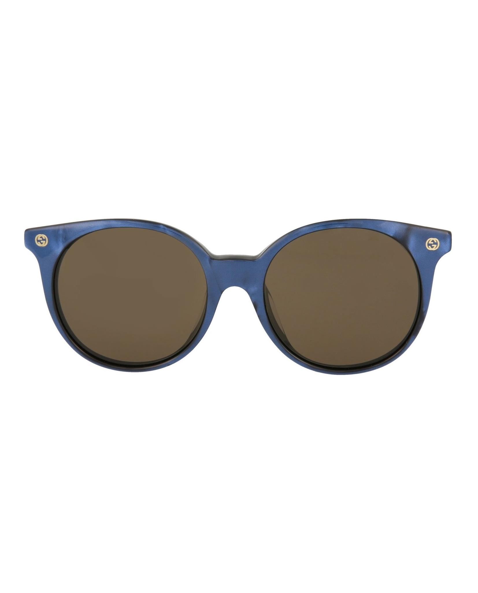 d6a2a78dd1 Gucci Womens Round Oval Sunglasses GG0091SA-30001509-004 ...
