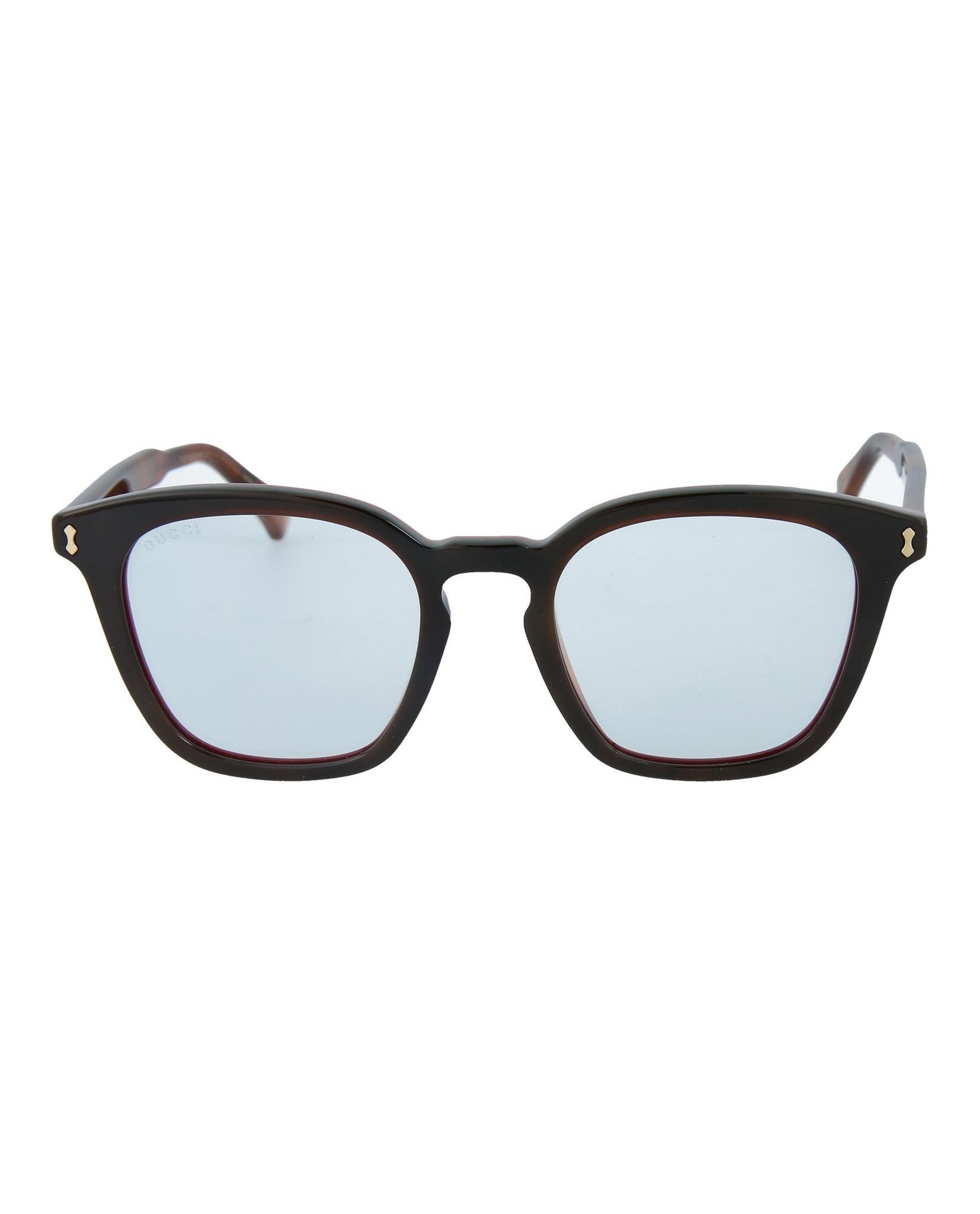 0f955e0a2ca Gucci Mens Square Rectangle Sunglasses GG0125S-30001533-007 ...