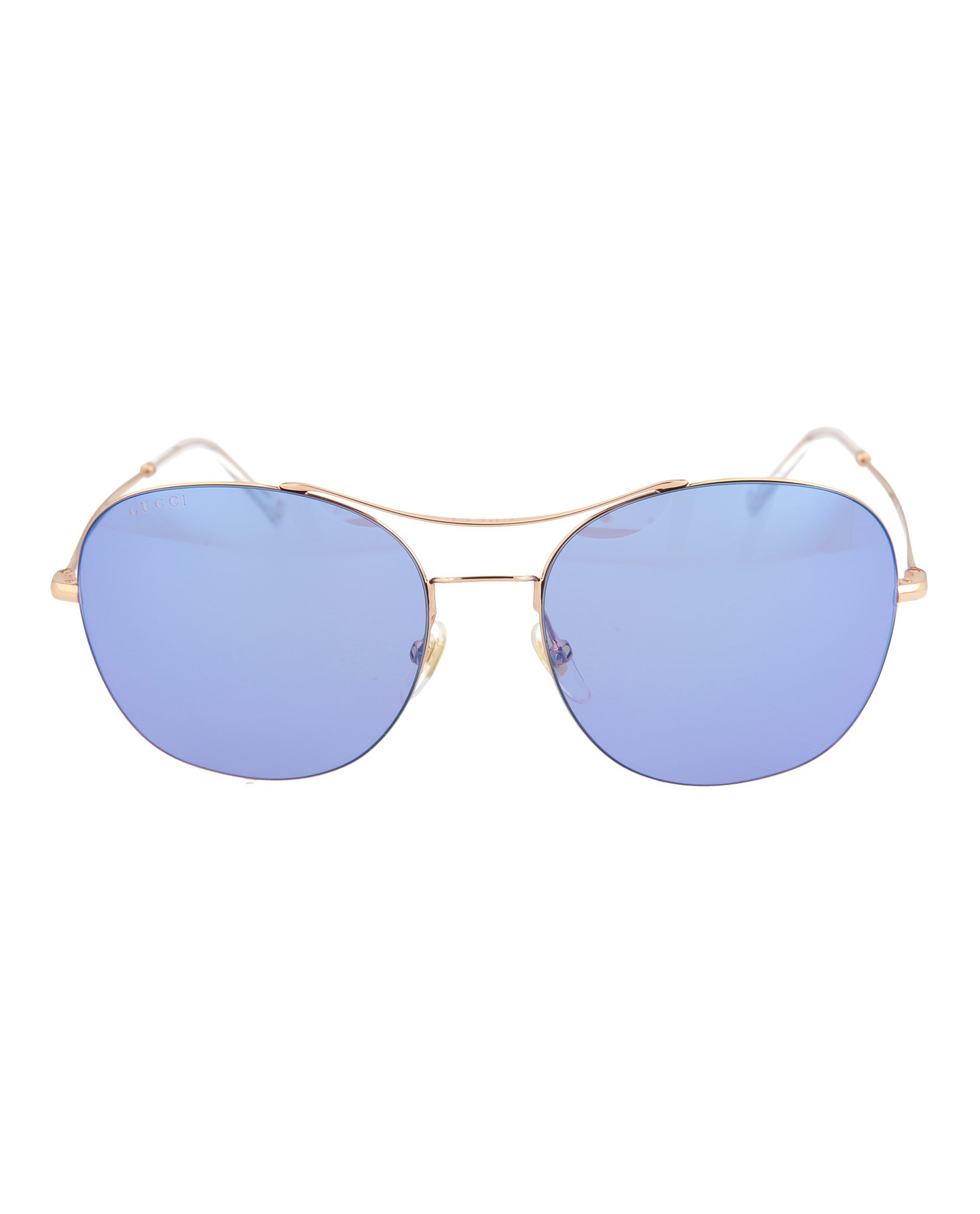 c1fa0a4492 Details about Gucci Womens Aviator Sunglasses GG0501S-30006501-005