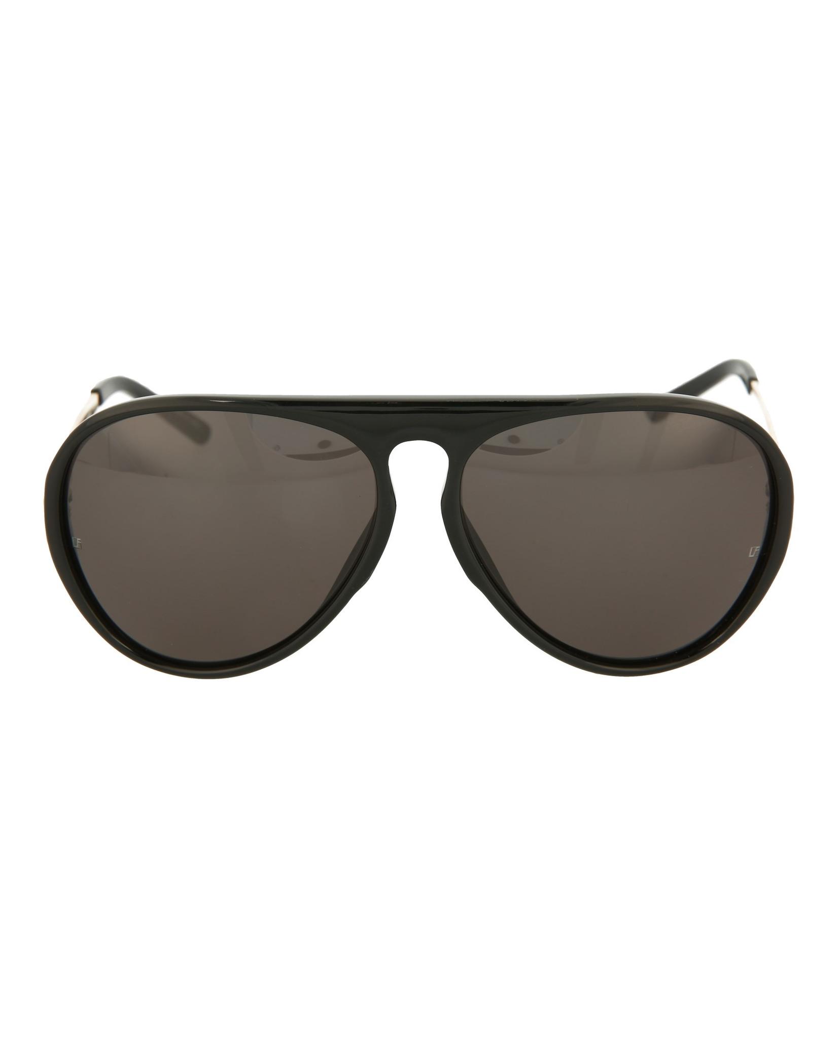 2de44349980 Linda Farrow Womens Aviator Sunglasses LFL11C2-SUN 191966090546