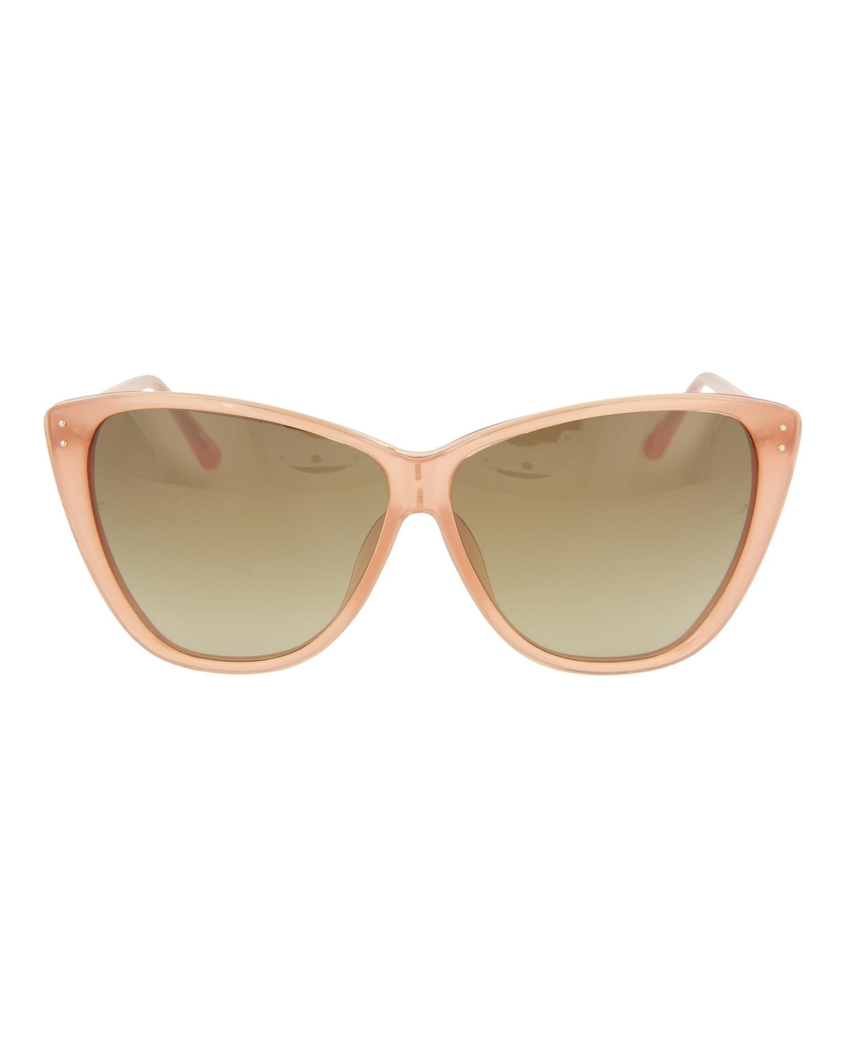 5b4aecb50955 Linda Farrow Womens Square Rectangle Sunglasses LFL153C8-SUN ...