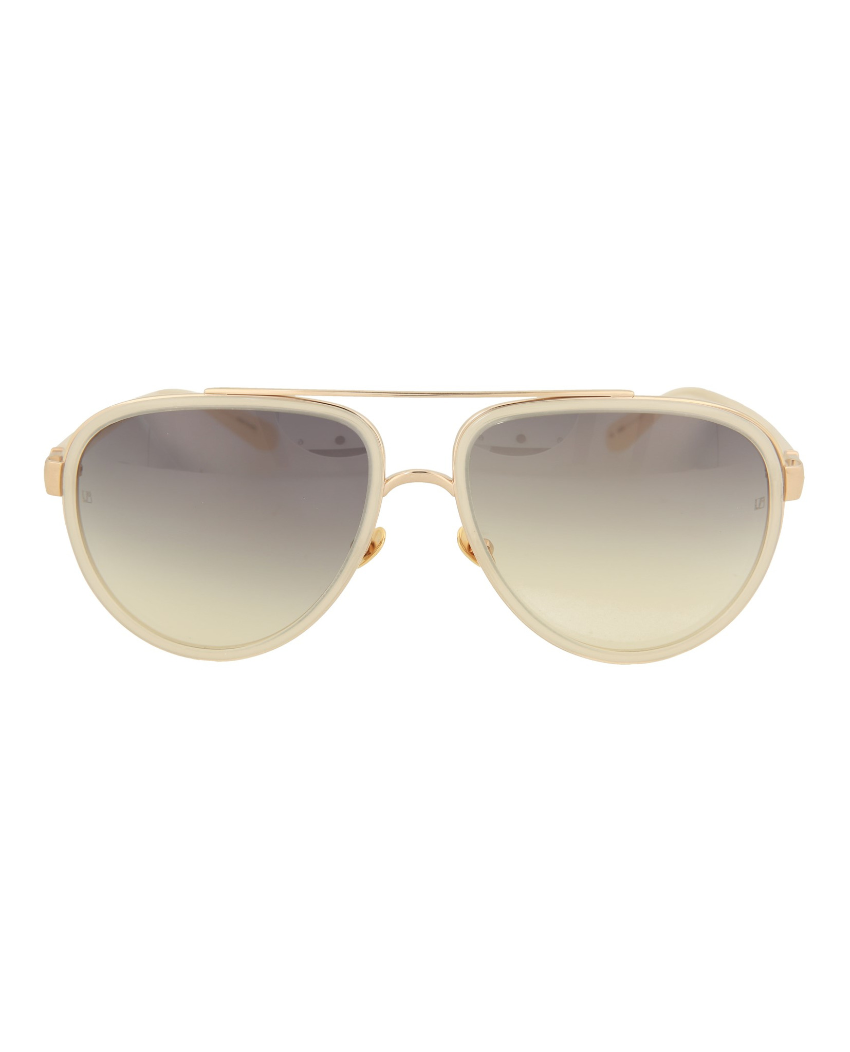 83817ddaa00 Linda Farrow Womens Aviator Sunglasses LFL165C20-SUN
